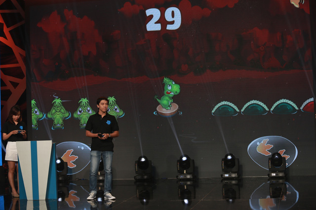 Thử thách trong trò chơi Khủng long tinh nghịch - Dino Rush