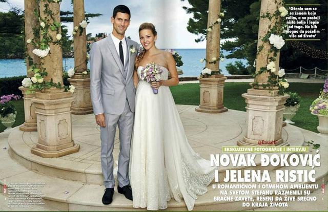 2014 là năm đáng nhớ với Novak Djokovic. Không chỉ bảo vệ thành công ngôi số 1 thế giới, tay vợt Serbia còn làm đám cưới với cô bạn gái lâu năm Jelena và chào đón đứa con đầu lòng vào cuối năm.