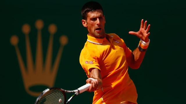 Novak Djokovic thể hiện sức mạnh đáng sợ tại Monte Carlo Masters