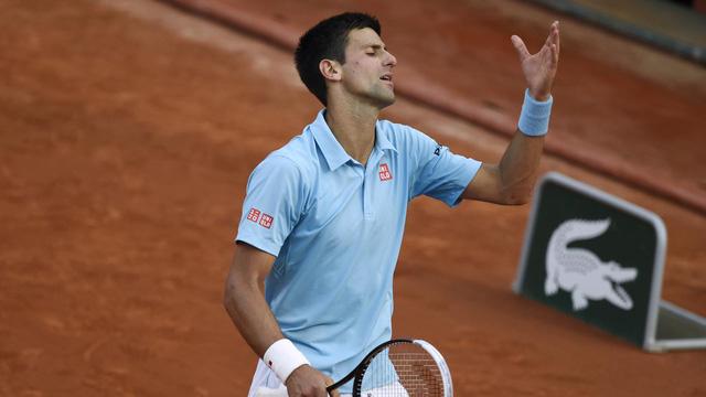 Nole thất bại trong trận chung kết Roland Garros 2014.