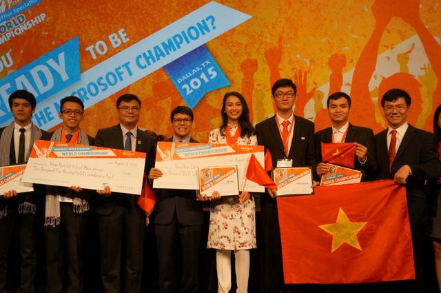 Nguyễn Thị Hiền Gia giành huy chương đồng tại cuộc thi MOSWC 2015