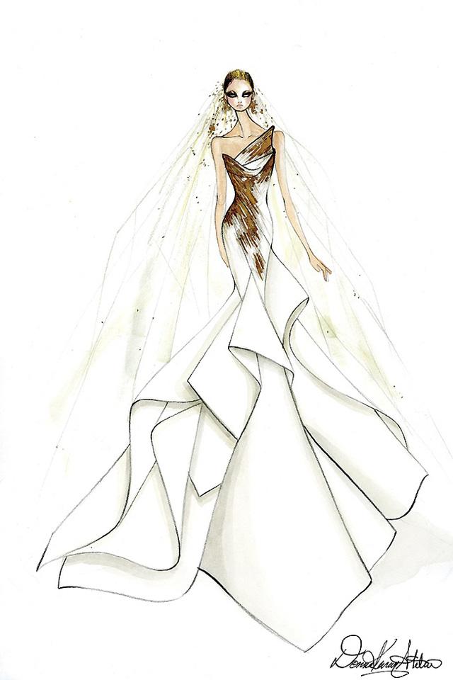 Thiết kế của Donna Karan Atelier.