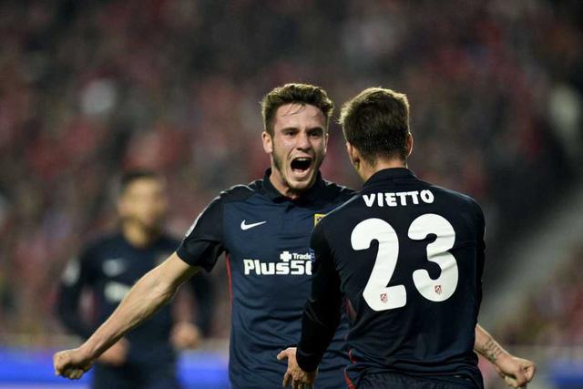 Vietto tỏa sáng giúp Atletico giành ngôi đầu bảng