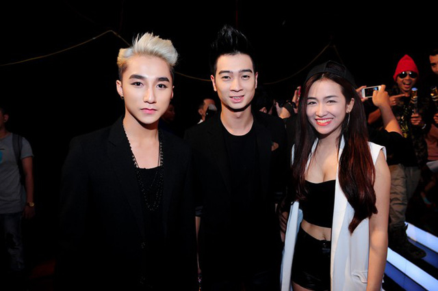 Nhóm Sơn Tùng M-Tp, SlimV và Trang Moon