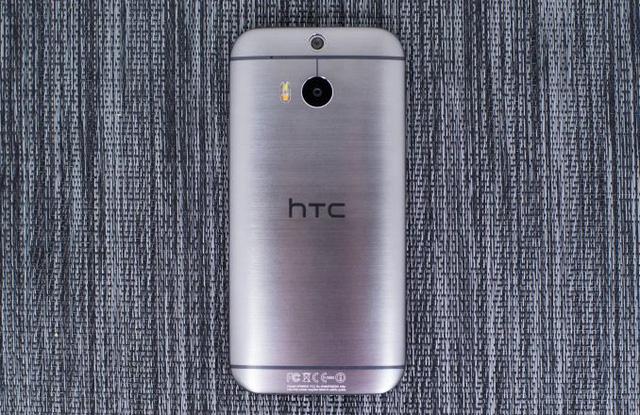 HTC One M8s cũng sở hữu vỏ kim loại nguyên khối