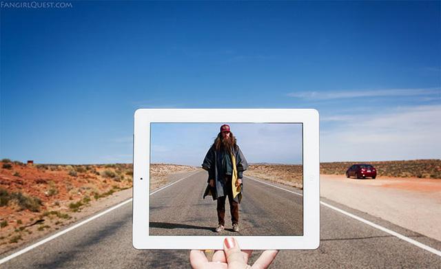 Đường 163 nằm ở thung lũng Monument, thuộc bang Utah, Mỹ chính là nơi quay phim Forrest Gump.