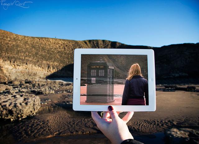 Vịnh Dunraven của xứ Wales là điểm quay phim Doctor Who.