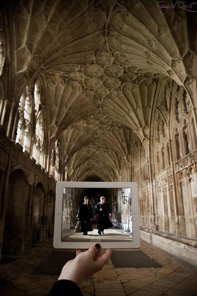 Nhà thờ Gloucester ở Anh chính là nơi ghi lại nhiều cảnh quay của phim Harry Potter.
