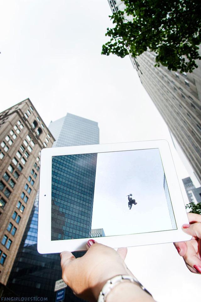 Một góc ở thành phố New York tại Mỹ là bối cảnh cho bộ phim The Avengers.