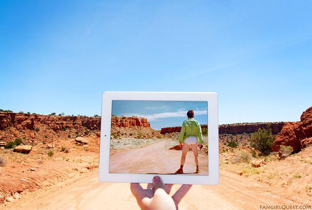 Một trong những bối cảnh phim Breaking Bad là khu bảo tồn da đỏ Tohajiilee ở New Mexico tại Mỹ.