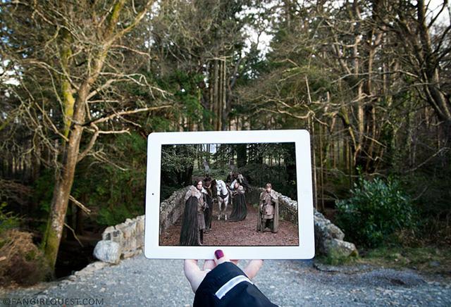 Công viên Tollymore ở Bắc Ireland là một trong những nơi quay phim Game of Thrones.