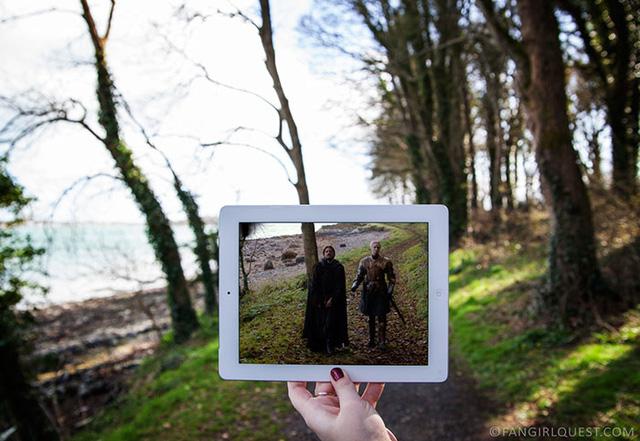 Nhiều cảnh khác của Game of Thrones còn được quay tại khuôn viên lâu đài Ward ở quốc gia này.