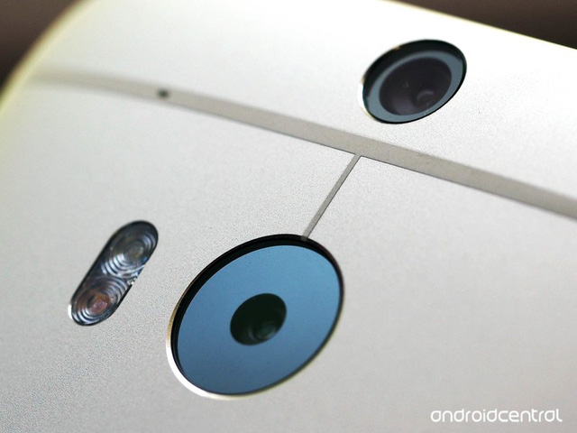 HTC One M8 Eye với hệ thống camera kép ở mặt sau