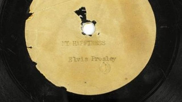 Bản thu âm đầu tiên của Elvis Presley, khúc ballad My Happiness.