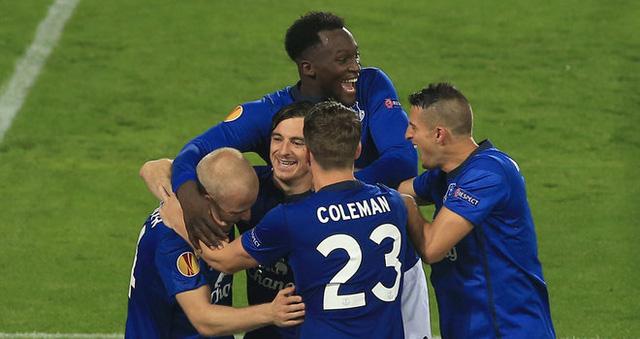 Everton vừa đại thắng tại Europa League