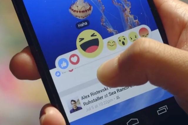 Nút Reactions với các biểu tượng cảm xúc đang được thử nghiệm và người dùng sẽ sớm được sử dụng tính năng này. (Ảnh: VietnamPlus)