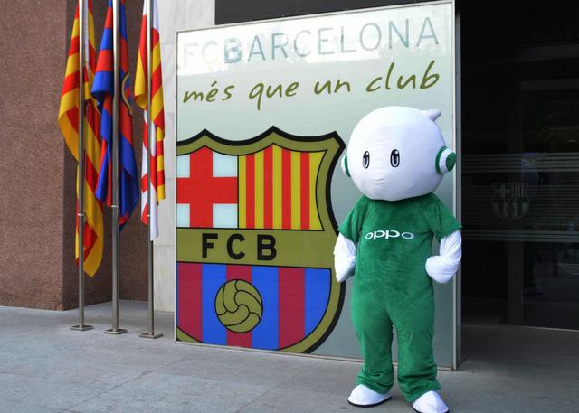 OPPO chính thức trở thành đối tác của Barcelona bắt đầu từ mùa giải 2015/16