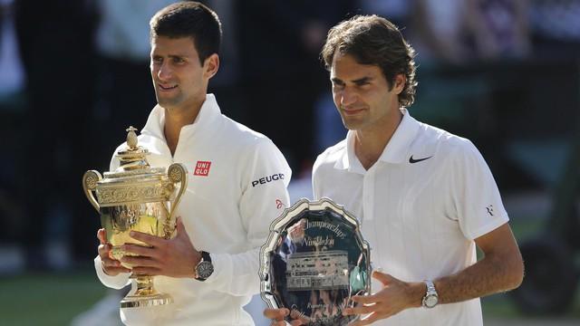 Năm 2014, Federer bất ngờ lọt tới tận chung kết Wimbledon.