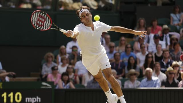 Federer ở tuổi 33 vẫn thi đấu rất bền bỉ.