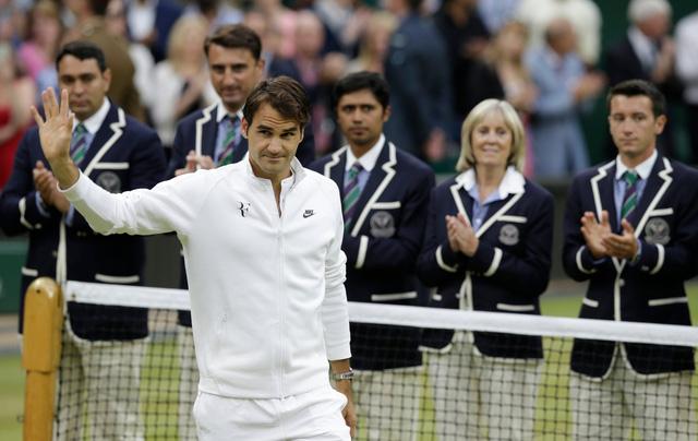 Federer với thành tích 17 Grand Slam vẫn đang đứng số 1 trong lịch sử quần vợt