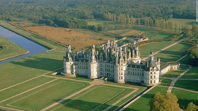 Lâu đài Le Château de Chambord