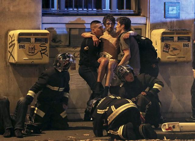 Ít nhất 100 người bị bắt làm con tin đã được giải cứu khỏi phòng hòa nhạc Bataclan (Ảnh Reuters)
