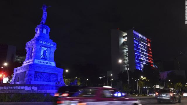 Tòa nhà thượng viện ở Mexico City