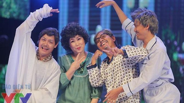 Gala cười - một trong những chương trình hài rất được chờ đợi trong mỗi dịp Tết Nguyên đán.