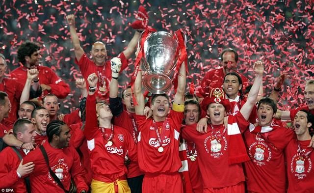Thủ quân Gerrard từng mang đến những điều kì diệu cho Liverpool trong đó có chức vô địch Champions League thần thánh ở Istanbul năm 2005.
