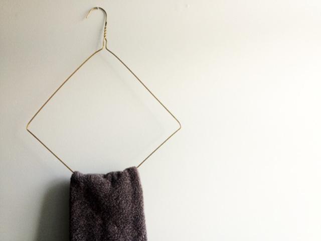 Giá treo hình khối đơn giản mà lạ mắt.