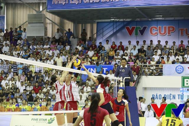 Tuy nhiên, đội Triều Tiên đã trở lại mạnh mẽ trong các set đấu sau đó