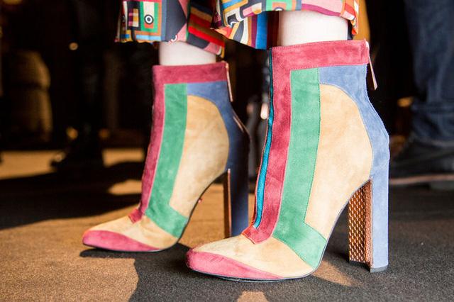 Boots cầu vồng của Just Cavalli.
