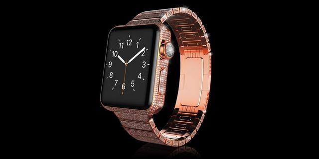 Gold Apple Watch Brilliance chất liệu vàng đỏ có giá 3.797 Bảng Anh