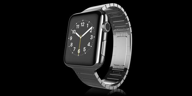 Gold Apple Watch Elite chất liệu Platinum có giá 2.197 Bảng Anh
