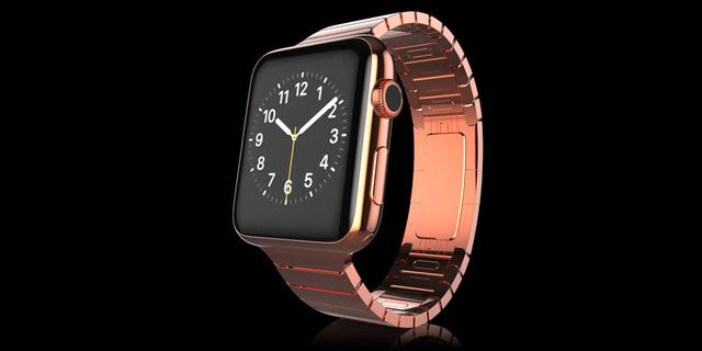 Gold Apple Watch Elite chất liệu vàng đỏ có giá 2.097 Bảng Anh