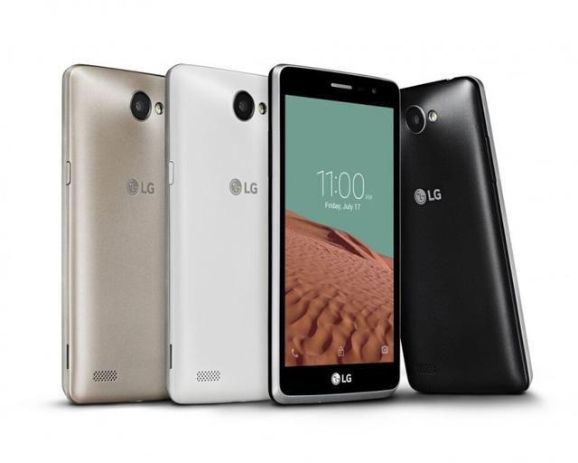 LG Bello II có 3 tùy chọn màu sắc