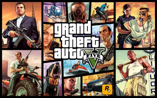 Hãng Rockstar ra mắt hàng loạt các phiên bản của serie game Grand Theft Auto như Vice City, GTA IV và gần nhất là GTA V.