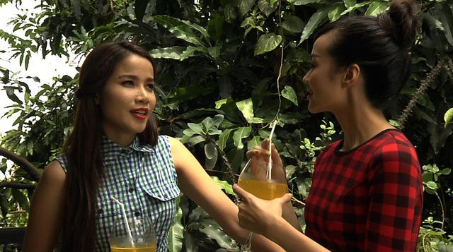 Bảo Trúc và Kim Ngân trong phim Đam mê nghiệt ngã.