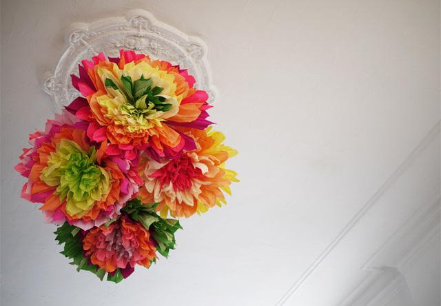 Treo hoa trên trần nhà - Bạn đã nghĩ đến ý tưởng này bao giờ chưa?