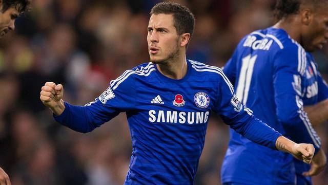 Ngoại hạng Anh chỉ đóng góp duy nhất 1 cầu thủ là Eden Hazard