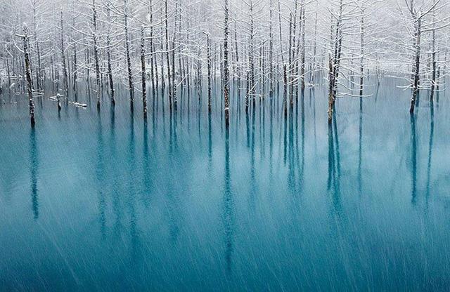 Hồ xanh ở Nhật Bản