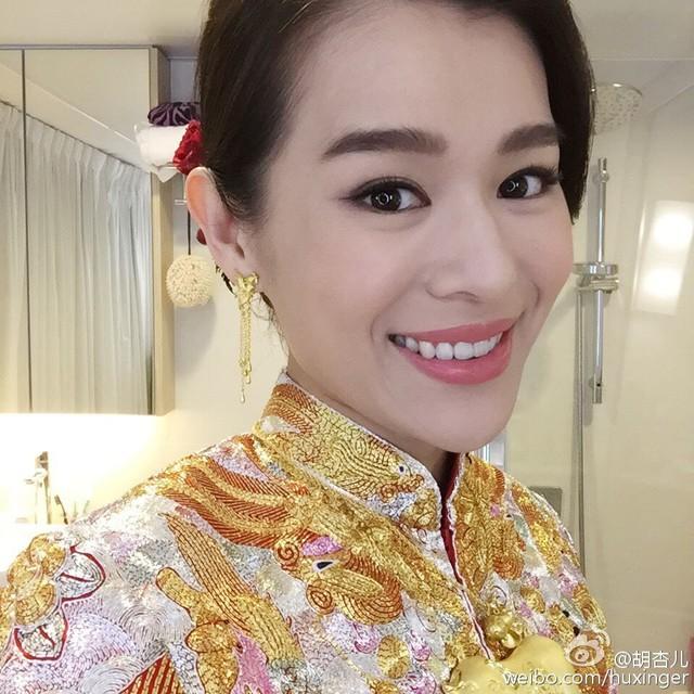 Vẻ rạng ngời của cựu diễn viên TVB trong ngày trọng đại
