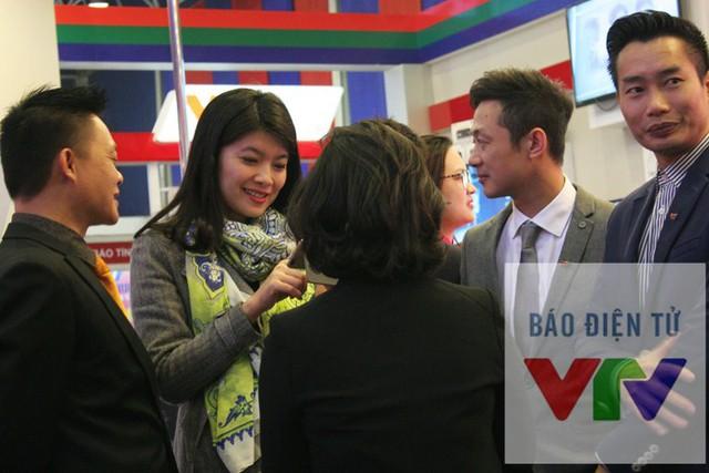 Đây cũng là dịp để công chúng được dịp giao lưu, gặp gỡ với các MC - biên tập viên quen thuộc trên truyền hình.