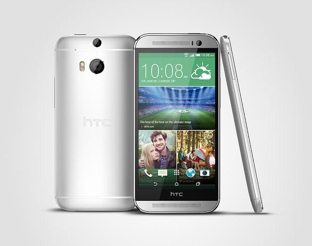HTC One M8 Eye sở hữu thiết kế kim loại nguyên khối cùng một cấu hình mạnh mẽ