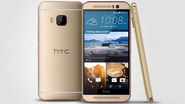 HTC One M9 sở hữu thiết kế khá giống với HTC One M8