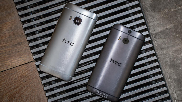 Thiết kế của HTC One M8 và HTC One M9 không có nhiều sự khác biệt