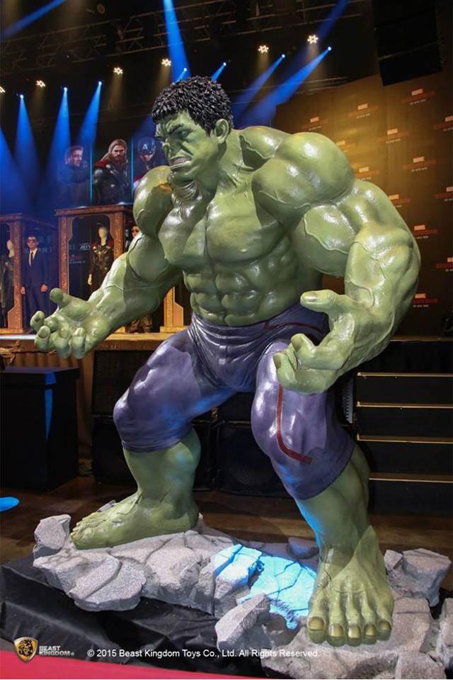 Người khổng lồ xanh cũng góp mặt trong sự kiện