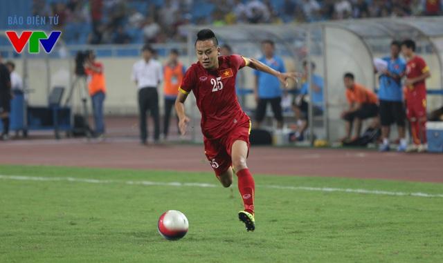Huy Toàn được kỳ vọng sẽ là ngòi nổ giúp U23 Việt Nam công phá hàng thủ U23 Myanmar. Ở trận đấu trước thềm SEA Games 28, Huy Toàn, Hồng Quân, Ngọc Hải không góp mặt.