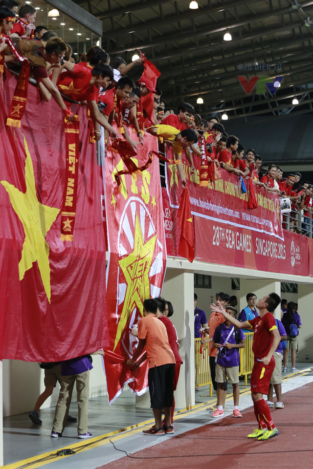 Hy vọng rằng, với tình cảm mà người hâm mộ dành cho ĐT, U23 Việt Nam sẽ thi đấu thật tốt và có thể làm nên lịch sử tại kỳ SEA Games 28 này.