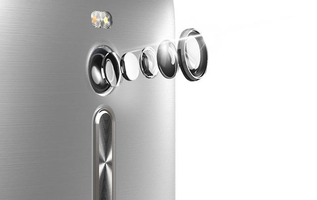 ZenFone 2 trang bị camera sau lên đến13MP